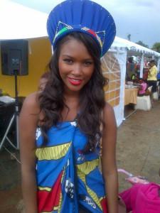 Rosette Mogomotsi black model Johannesburg