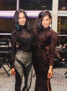 Kelly & Gabriella Davids Sisters